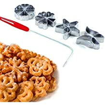 Traditional Pastry Mould-Hworost, Waffle Iron, Bakery Spree Forest Ribbon Set of 4 by Warenwelt