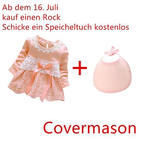 Covermason Baby Mädchen Kleider Prinzessin Kleider Dresses (L(12-18 Monate), Rosa)