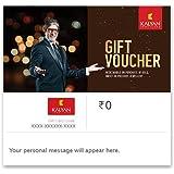 Flat 3% off at checkout||Kalyan Jewellers Gold Jewellery - Digital Voucher