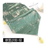 JUNYZZQ Tischläufer Postmoderne Minimalistische Nordische Geometrie Amerikanische Chinesische Couch Europäische Gold 30X240Cm