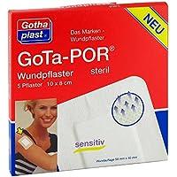 Gota-por Wundpflaster steril 80x100 mm 5 stk preisvergleich bei billige-tabletten.eu