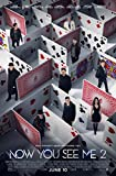 Now You See Me 2Movie Poster dimensioni 27,9x 20,3cm