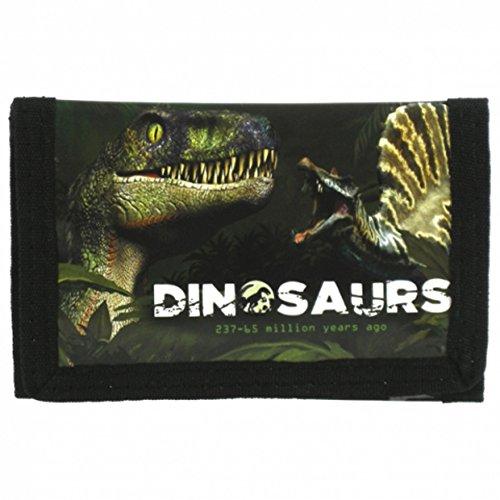 Dinosaurier Kinder Geldbörse T - Rex Geldbeutel Portemonnaie Dino