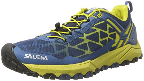 Salewa Herren MS Multi Track Outdoor Fitnessschuhe, Blau (Dark Denim/Kamille 5730), 42.5 EU (Dark Schuhe Denim)