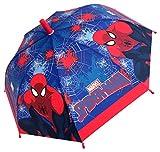 Chanos Chanos Marvel Manual Safety Runner Poe Embossed Folding Umbrella, 38 cm, Blue Regenschirm, Blau (Blue)