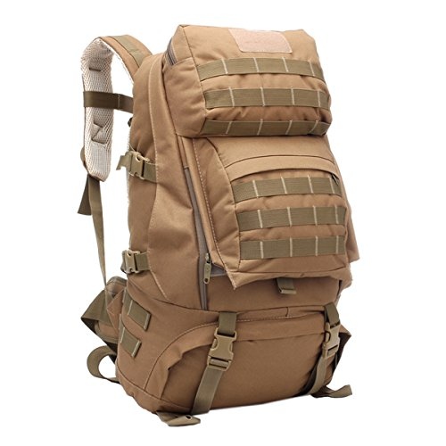Huihai Outdoor Spike Shoulders Rucksack Cartoon Tasche Nylon Wasserdichte Computer Tasche High School Breathable Back Pad Starke Wiederaufladbare Schatz Classic Fresh Khaki