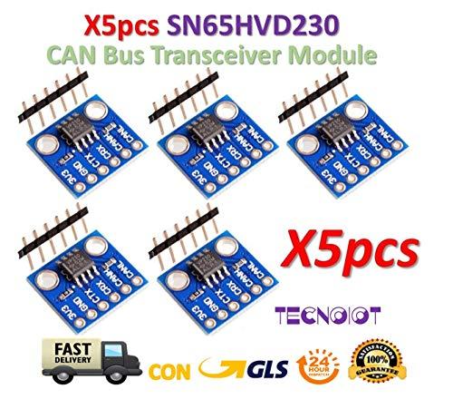 5pcs SN65HVD230 CAN Bus Communication Transceiver Module for Arduino Daten Rs232-transceiver
