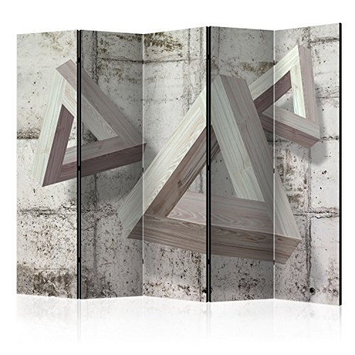 murando - Biombo - de impresion unilateral en el lienzo de TNT de calidad Premium - Decoracion cuarto - Biombo de madera con imagen impresa - f-A-0451-z-c