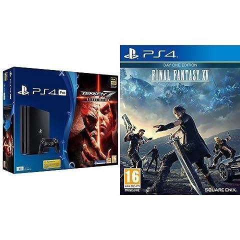 Pack PS4 Pro + Tekken 7 + Final Fantasy XV