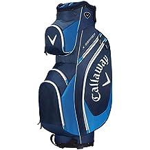 Calaway X Series Bolsa para Carro de Golf, Unisex Adulto, Negro/Azul/Blanco, Talla Única