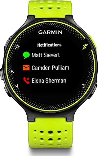Garmin Forerunner 230 HR GPS-Laufuhr inkl. Herzfrequenz-Brustgurt – 16 Std. Akkulaufzeit, Smart Notifications - 8