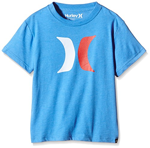 Hurley Jungen T-Shirt Icon, Photo Blue, XL, BTSE000030 (Icon Tee Hurley)
