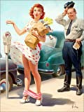 Posterlounge Cuadro de PVC 120 x 160 cm: No Time to Lose de Art Frahm