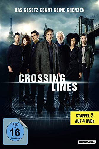 Crossing Lines - Staffel 2 [4 DVDs] -
