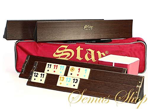 Star Premium OKEY/rummikub Set Madera Maciza ahsap