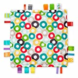 Genuine Taggies Circles Plush Security Comforter Blankets