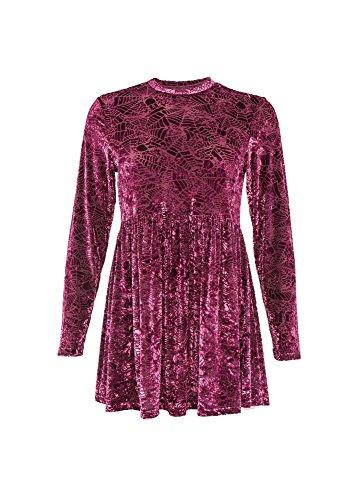 Iron Fist Damen Kleid rot rot Burgundy