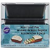 Best Kitchen Craft Loaf Pans - Wilton Brands Moule à pain Mini Poêles 3/pkg-5.75-inch Review