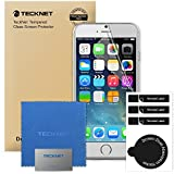 iPhone 6S Screen Protector, TeckNet [3-Pack] Ultra Clear High Response 4H Hardness HD Screen Protector Film For Apple iPhone 6S and iPhone 6