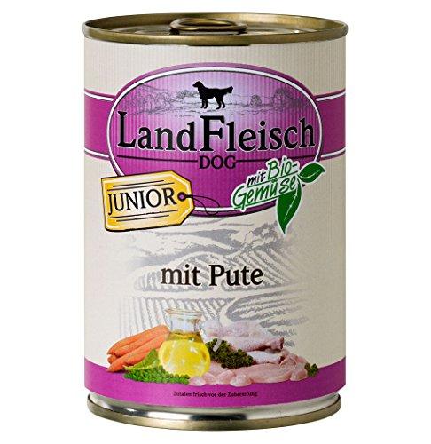 LandFleisch   Junior mit Huhn, Ente und Kartoffeln   12 x 400 g