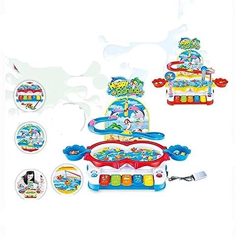 WGE Multifunktionale Elektrische Magnetische Angeln Tisch Spielzeug Kinder Puzzle Versammelt Spielzeug , 2