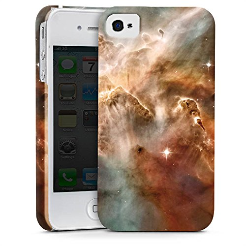 Apple iPhone X Silikon Hülle Case Schutzhülle Sterne Space Muster Premium Case glänzend