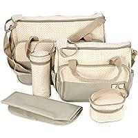 Set 5 kits Bolso/Bolsa/Bolsillo Maternal Bebé para carro carrito biberón colchoneta comida pañal