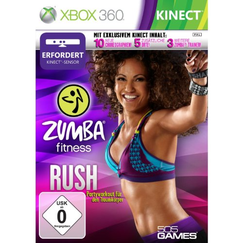 Zumba Fitness Rush (Kinect) - [Xbox 360]