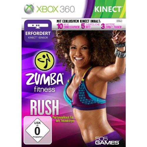 Zumba Fitness Rush (Kinect) - [Xbox 360] (Zumba Kinect Für)