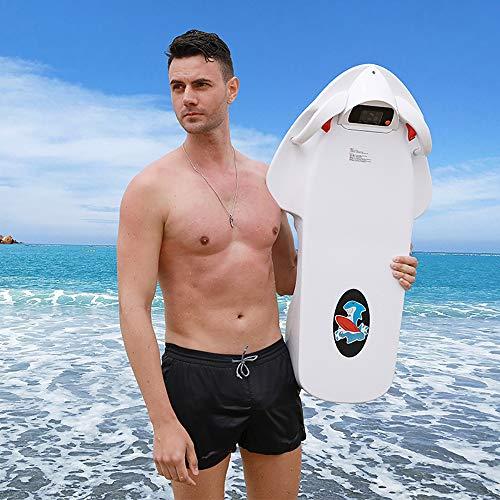 ZUEN Power Schwimmen Kickboard Rettungsring Strom Surfen Skateboard Paddel Wasser Bord Wasser Propeller 36V Weiß -