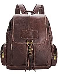 Sac a dos, Coofit Cartable sac à dos college sac à dos femme en Cuir synthétique sac voyage femme Cartable college fille sac femme