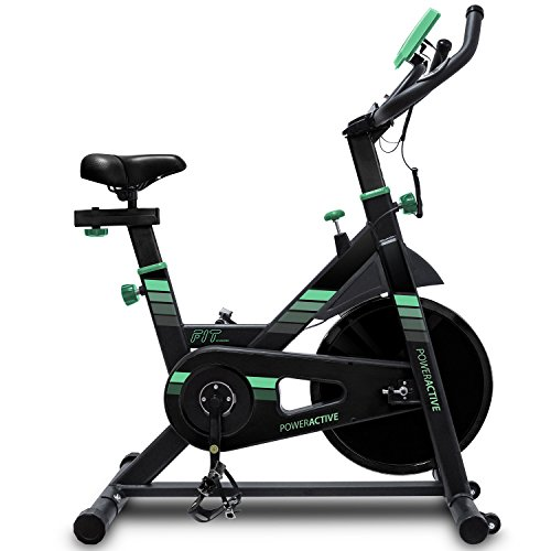 Bicicleta spinning profesional PowerActive de Cecotec