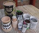 Burgon & Ball Eco Pot Maker Make plant and seedling pots from newspaper