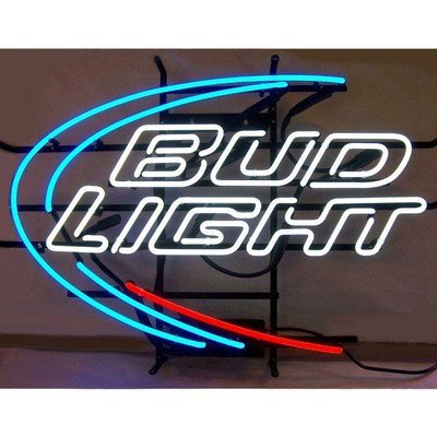 Neonetics 5BUDLI Bud Light Neon Sign by Neonetics - Bud Light Neon