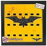 OEM Magnetischer Setzkasten Vitrine für Lego Minifiguren Batman Movie, Pic2 mit 20 Steinen