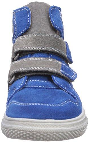 Richter Kinderschuhe Mose 6247-521 Jungen Hohe Sneakers Blau (lagoon/rock  6911)
