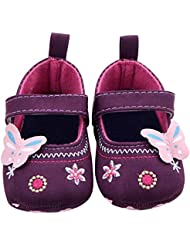 Malloom Moda bebé zapatos mariposa niño suela suave