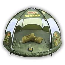 ostoutdoor hinchable de tienda de campaña familiar, 4personas gran espacio, resistente al agua para al aire libre Camping inflable de viaje para el coche con puerta con cremallera y vejiga, agua flotante y anti serpiente.