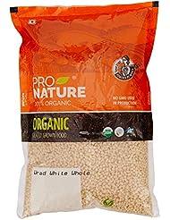 Pro Nature 100% Organic Urad White Whole, 1kg