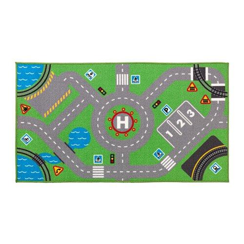 """IKEA Spielteppich \""""STORABO\"""" - rutschfester Teppich für das Kinderzimmer in 75x133cm - waschbar"""