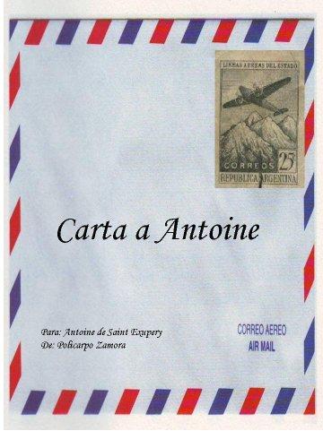 Carta a Antoine con noticias del Principito eBook: Policarpo ...