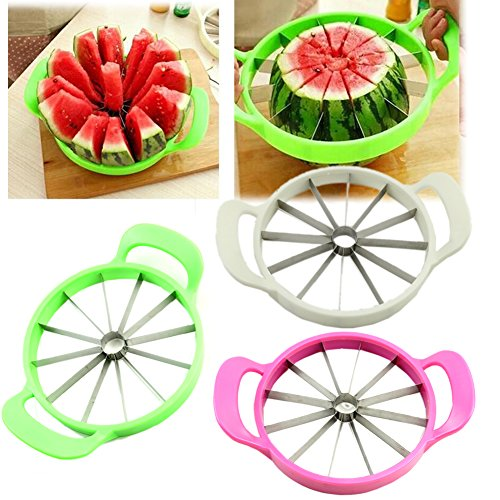 Dairyshop Facile Fruit Melon Slicer Cantaloup Pastèque Slicer Kitchen Tool inoxydable Steel Cutter