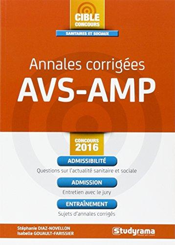 Annales corriges AVS-AMP