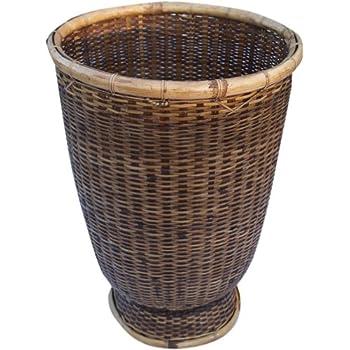 guru shop rattan papierkorb asiatischer korb gr e gro d 30 cm h 45 cm k rbe. Black Bedroom Furniture Sets. Home Design Ideas