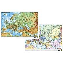 Europa und der Nahe Osten physisch/politisch - DUO-Schreibunterlage klein