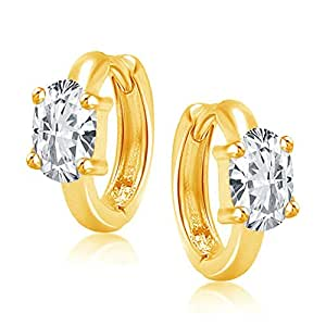 VK Jewels Gold Plated Alloy Hoop Earrings for Women