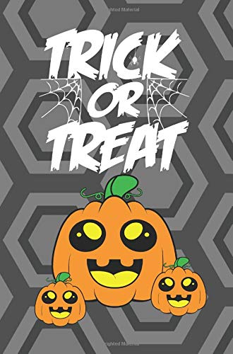 Trick or Treat: Cute Small Halloween Notebook - Healthy Candy Alternative - Kids Writing Book (MindCandy Halloween Books)