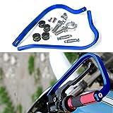 Triclicks 22mm 7/8' Universal Motorrad Handschützer Für Dirt Bike MX ATV (Blau)