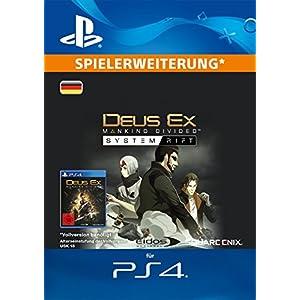 Deus Ex: Mankind Divided – System Rift DLC [PS4 Download Code – deutsches Konto]