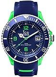 Ice-Watch Herren - Armbanduhr Ice Sporty Analog Quarz Silikon SR.3H.BGN.BB.S.15